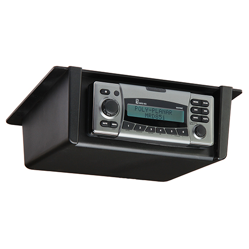 Poly-Planar Radio Splash Panel Mount Cover